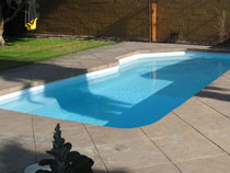 Image of an In-ground Pool after Maintenance by Elite Pool Builders in Toronto