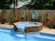 Image of an In-ground Fiberglass Pool Installation with Equipment in the GTA