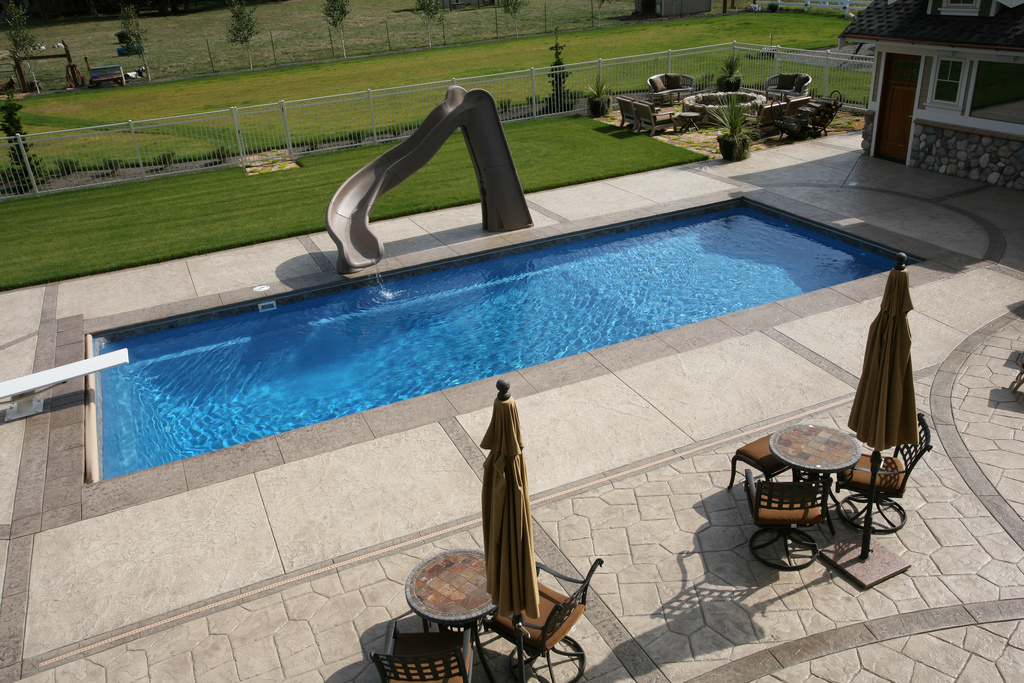 Image of In-ground Fiberglass Pool Equipment Toronto and the GTA