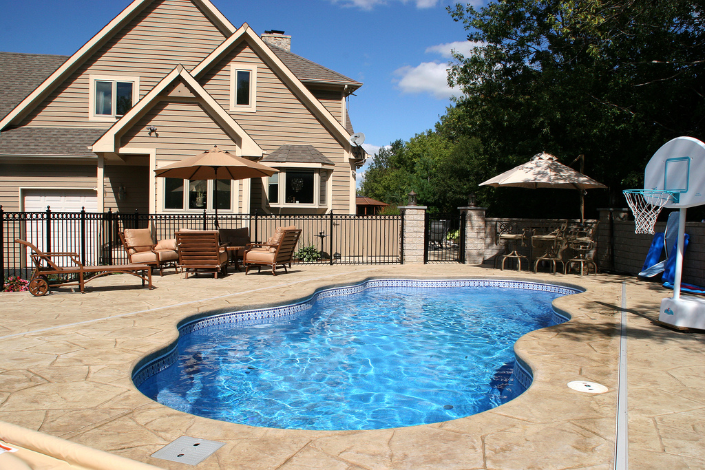 Image of In-ground Fiberglass Pool Equipment Ontario