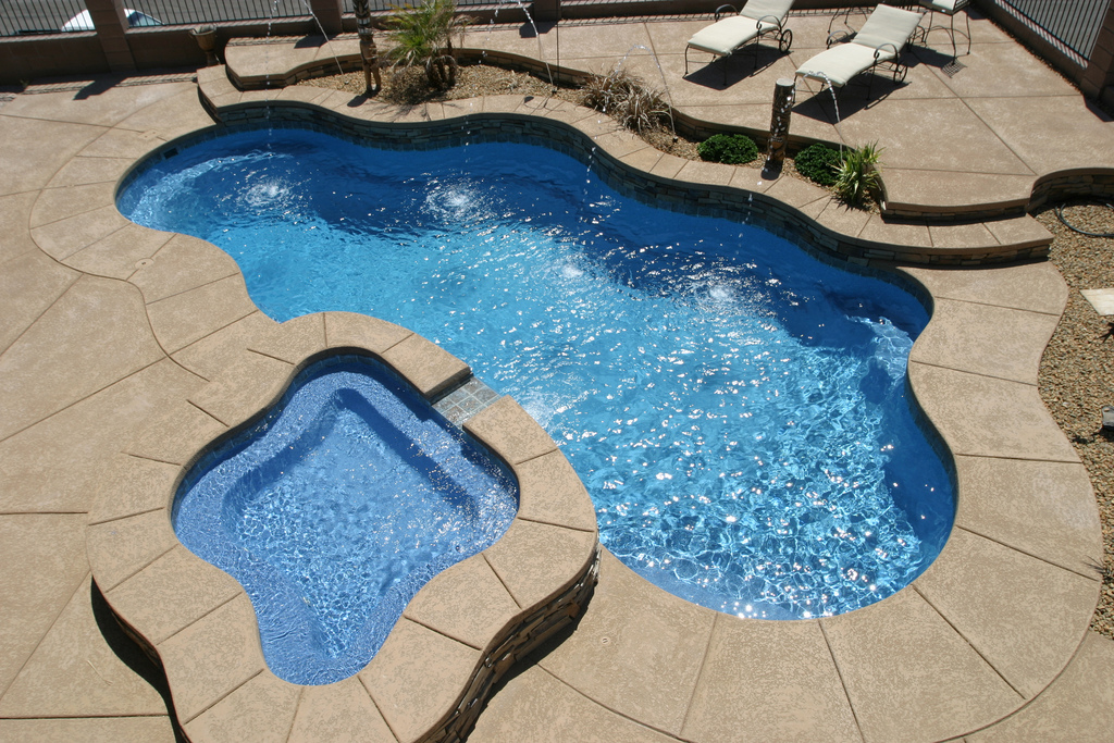 Image of In-ground Fiberglass Pools Maintenance in Toronto & the GTA