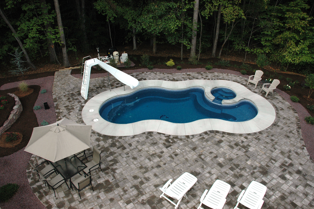Image of In-ground Fiberglass Pool Installation Toronto